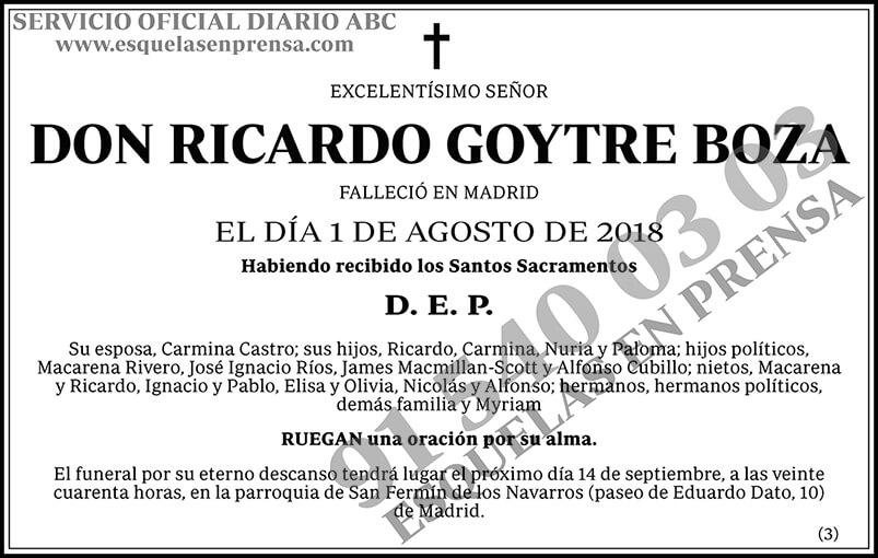 Ricardo Goytre Boza